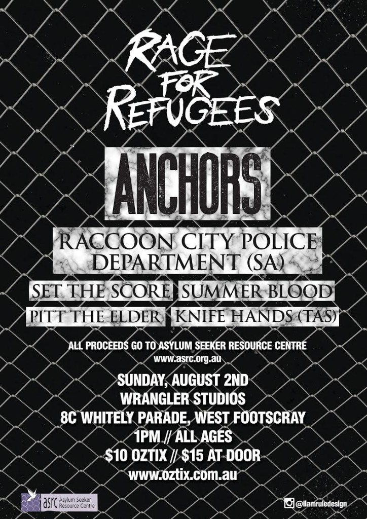 Rage for Refugees ASRC