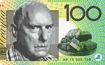 Alf Stewart Australian money happy