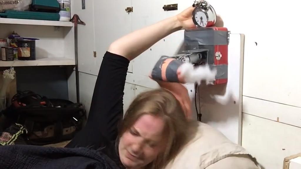 Slap-happy Alarm Clock