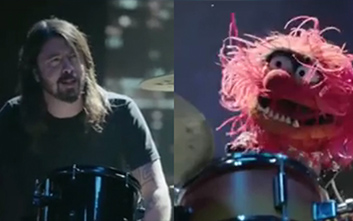 Dave Groh drum off muppets