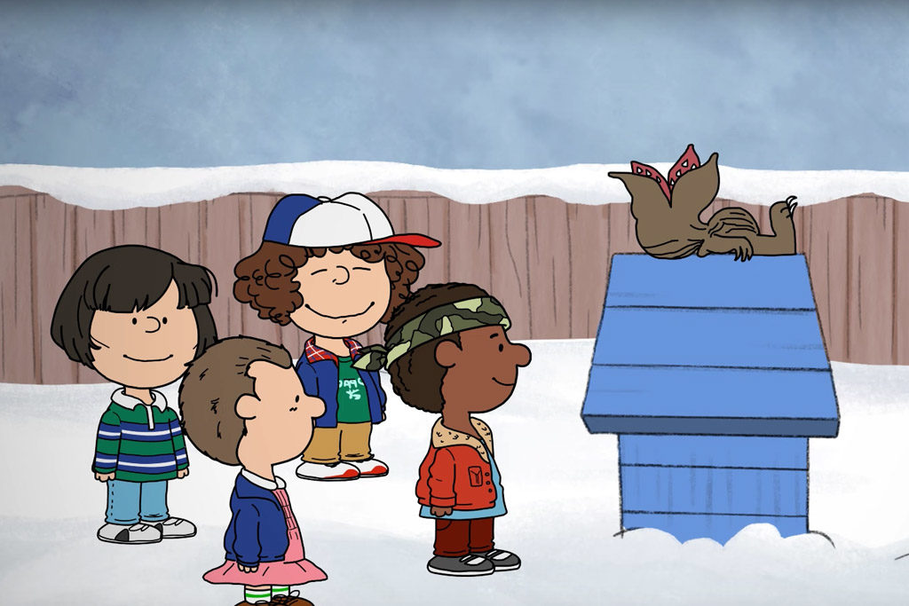 Stranger Things and A Charlie Brown Christmas