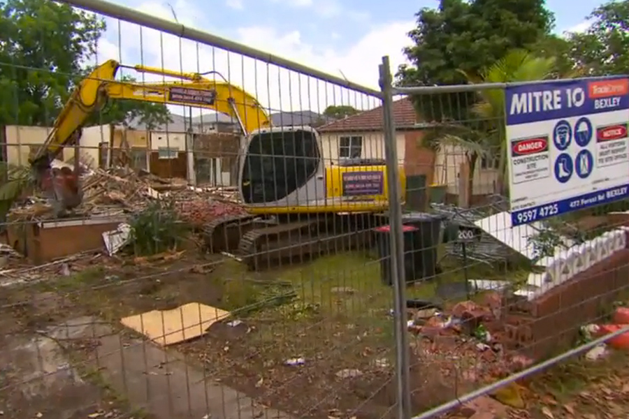 Demolition Wrong House : Sydney demolition company accidentally flattens the wrong