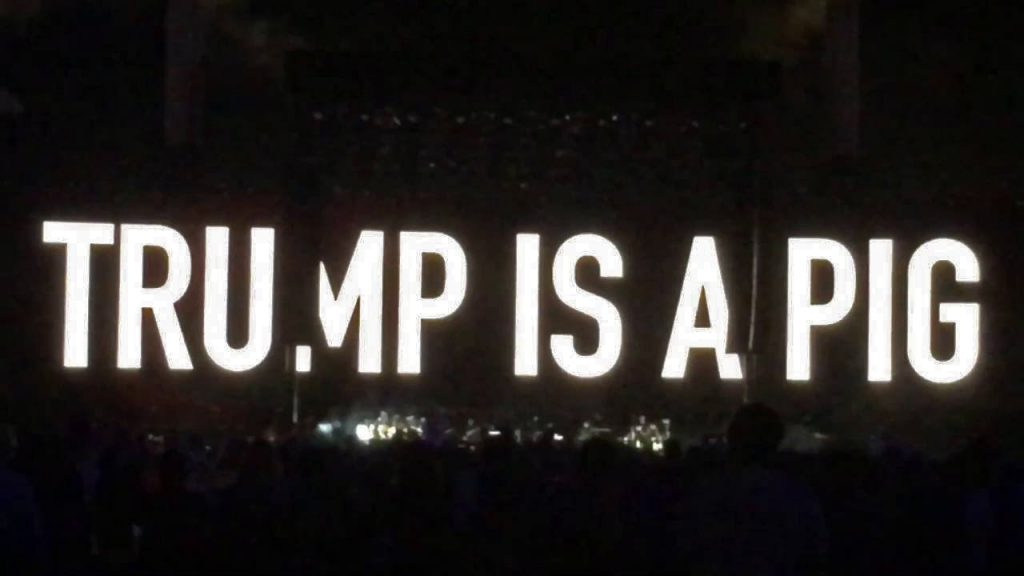 roger waters donald trump pigs