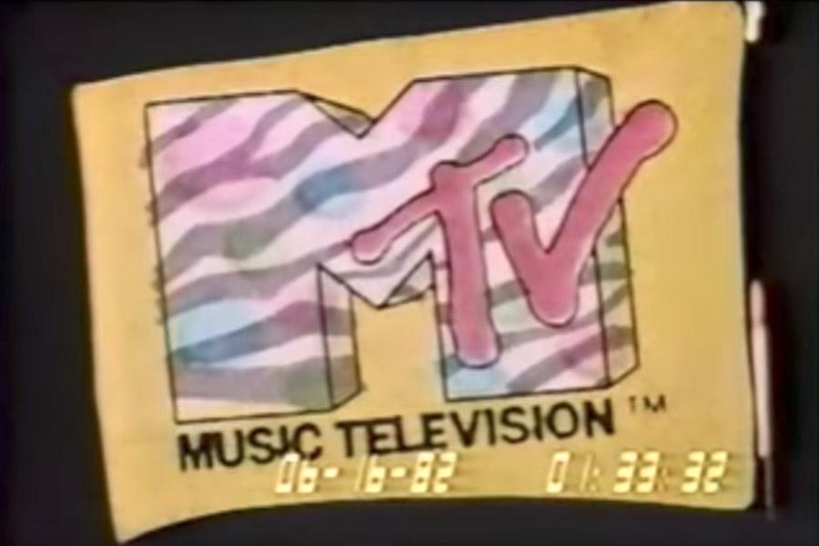 mtv old logo vintage 1982 mtv 80s music television