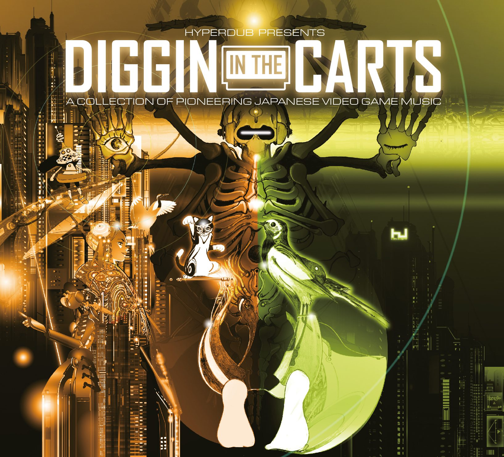 diggin in the carts hyperdub video game music