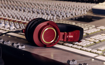 audio technica headphones Limited Edition M50xRD happy mag issue 6 launch