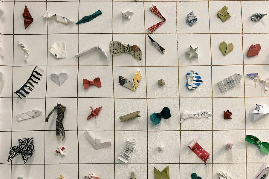 Chopstick Wrappers Used As Origami Papers Have The World Captivated