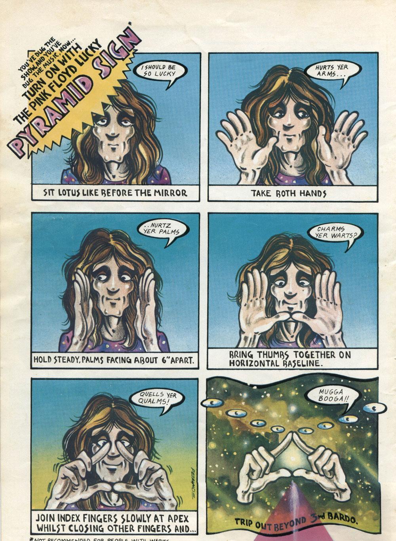 pink floyd dark side of the moon comic