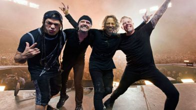 Metallica's setlists are based off your city's Spotify data
