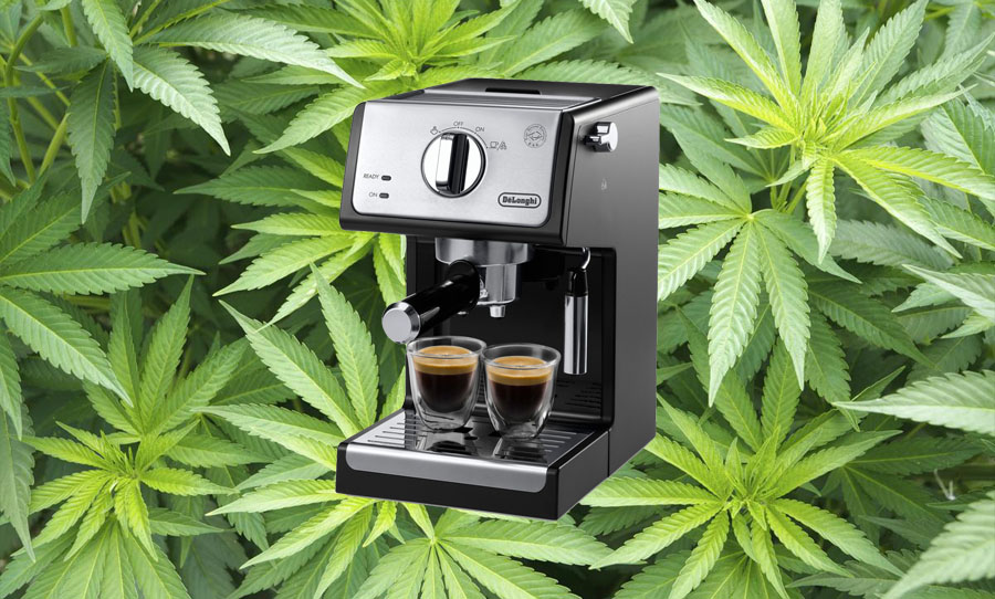 marijuana thc weed extract espresso machine