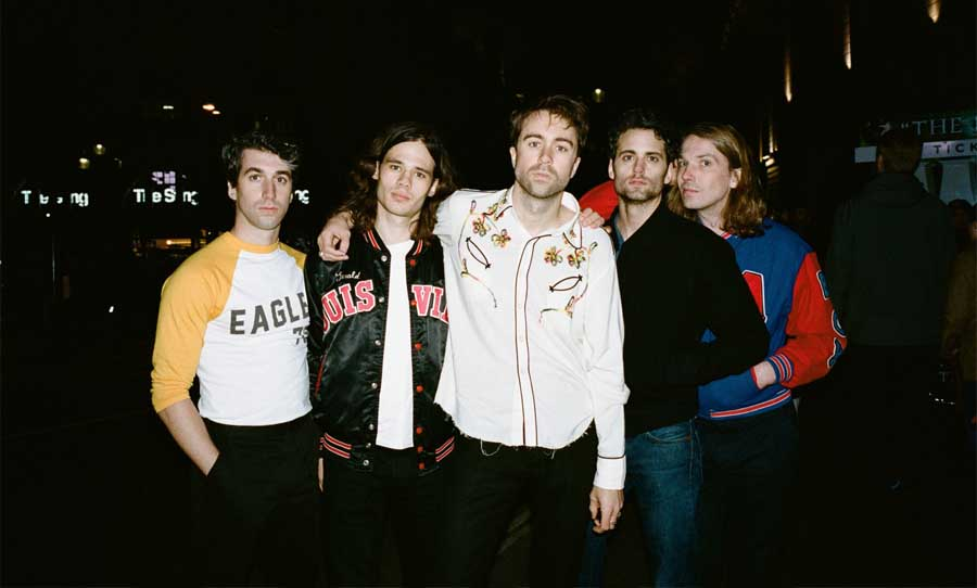 Árni Árnason the vaccines interview falls festival happy mag