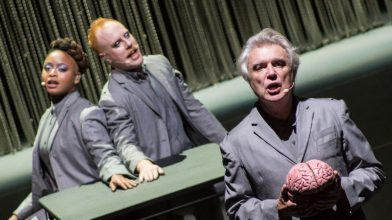 David Byrne's unveils new live EP titled …The Best Live Show of All Time