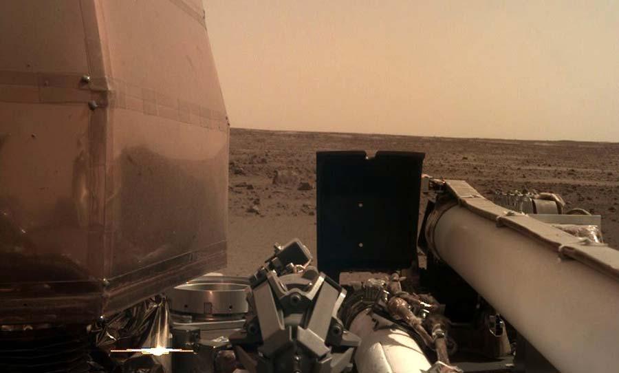 nasa insight rover mars sounds of mars