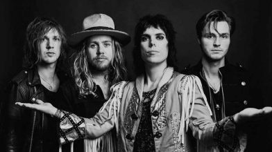 Glam revivalists The Struts are hitting Australian shores with a new single in tow