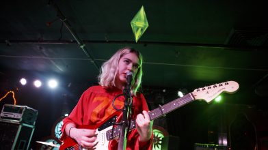 Listen to Snail Mail's Pristine in The Sims gibberish
