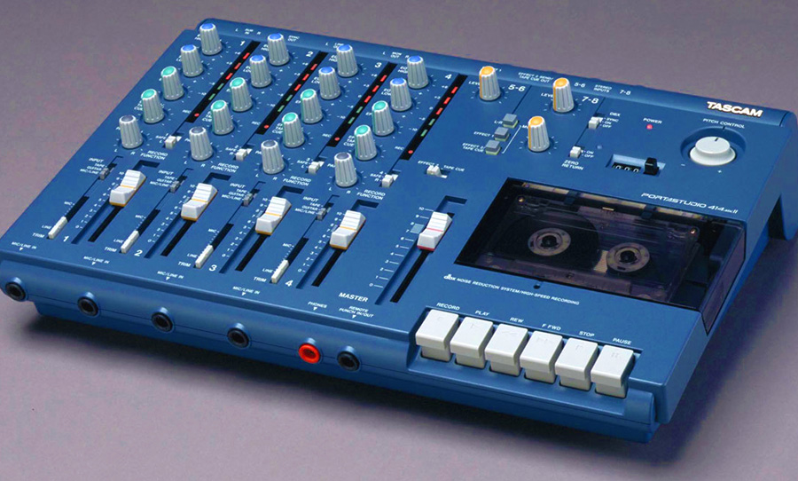 Tascam 414 tape machine
