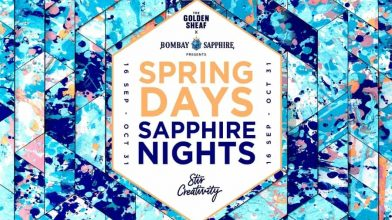 The Golden Sheaf announces a glittering six-week Bombay Sapphire takeover