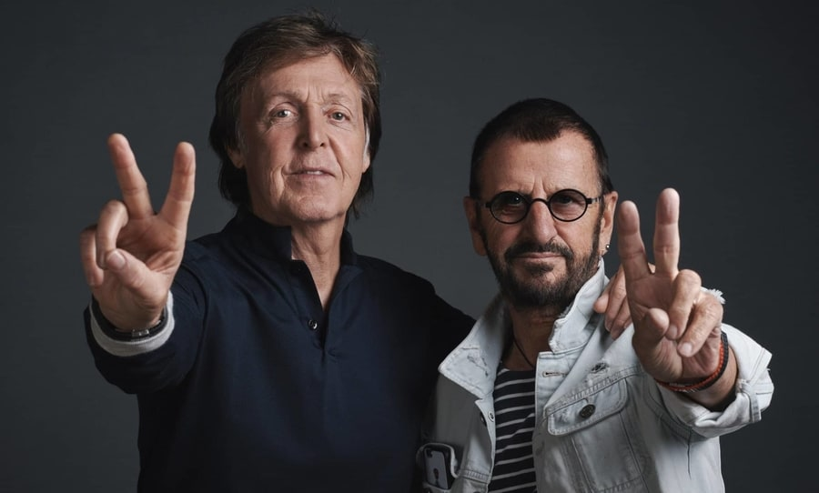 Ringo Starr, Paul McCartney, John Lennon, Grow Old With Me