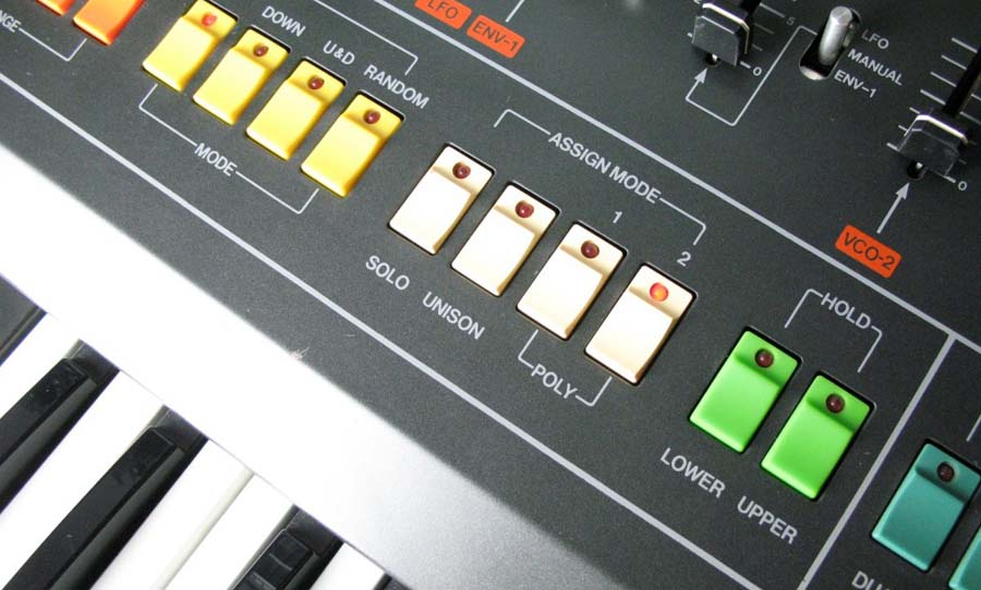 Roland Jupiter-8 close up