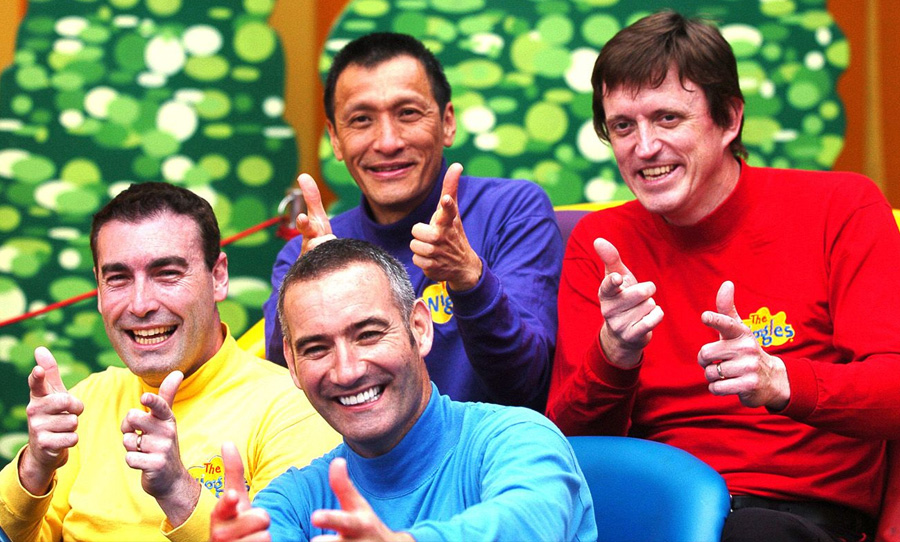 the wiggles Greg Page