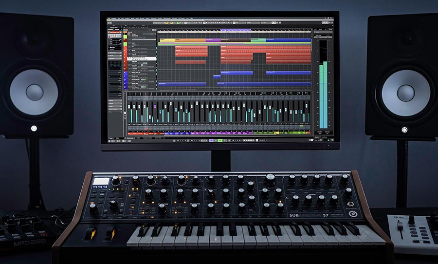 Cubase 10, music production software, daw