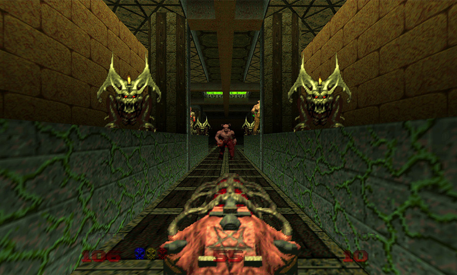 doom 64 game review Midway Games nightdive studios