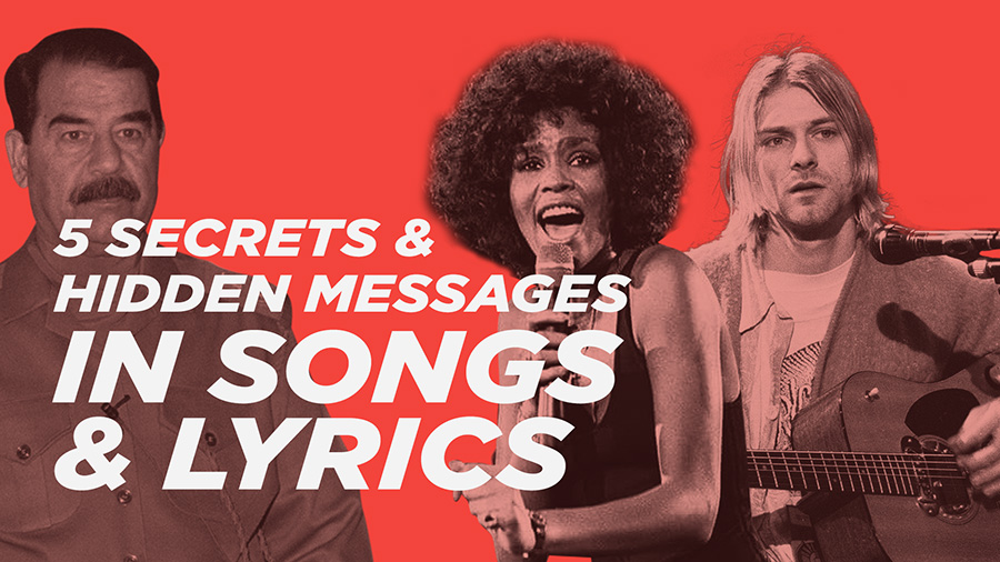 5 Secrets and Hidden Messages in Popular Songs