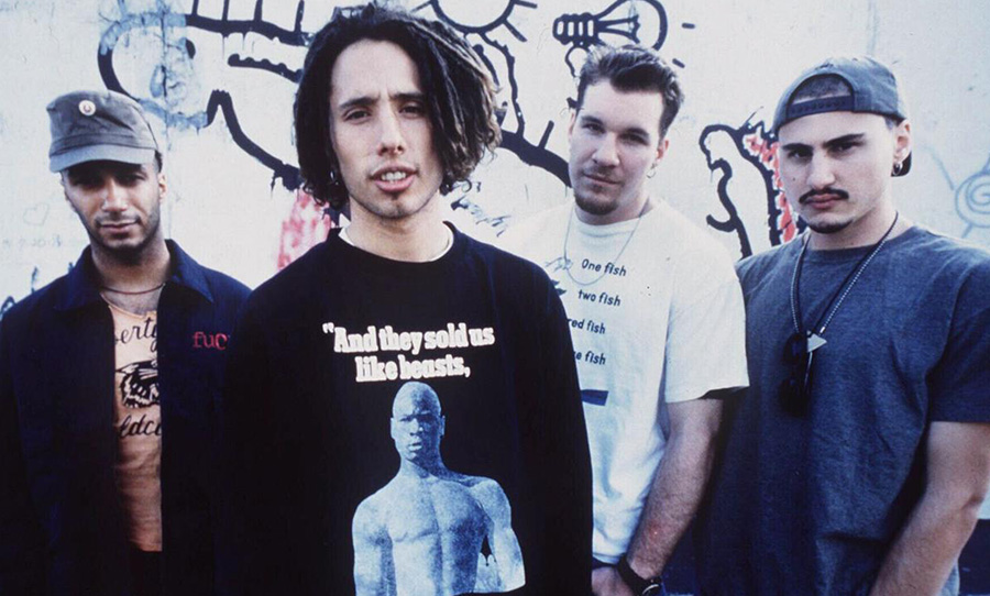 Some people are only just now realising that Rage Against The Machine are a  political band