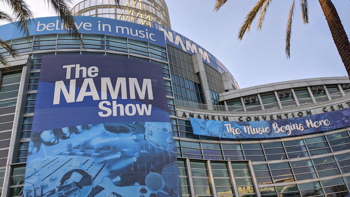 NAMM, Covid, Virtual, event, 2021, January