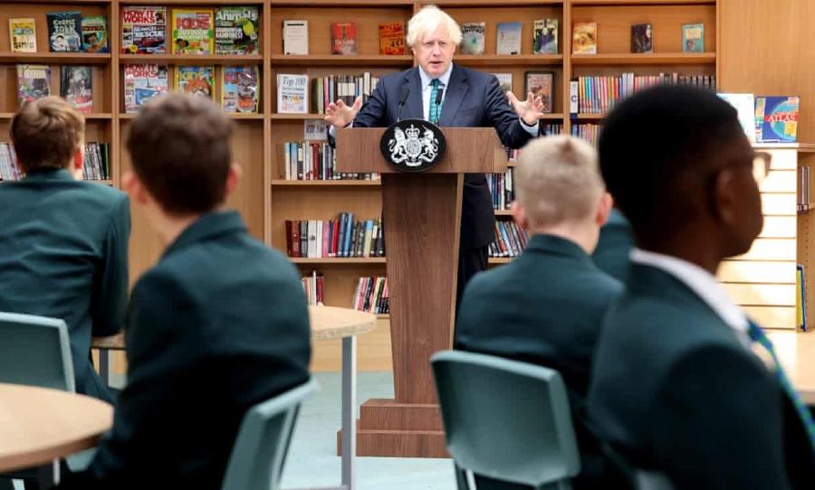 Boris Johnson, Books, Librarian, Dystopia