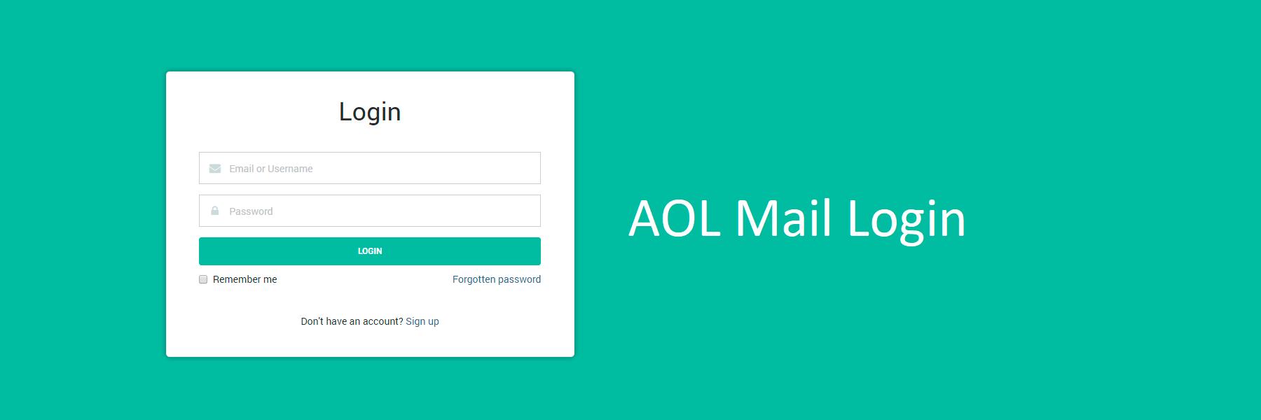 Email aol login free Update AOL