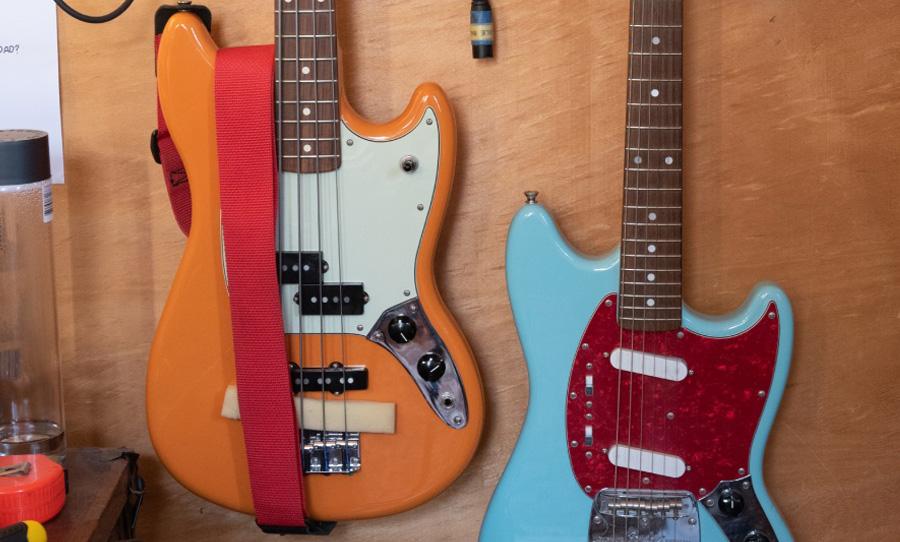 Sunbeam Sound Machine guitars