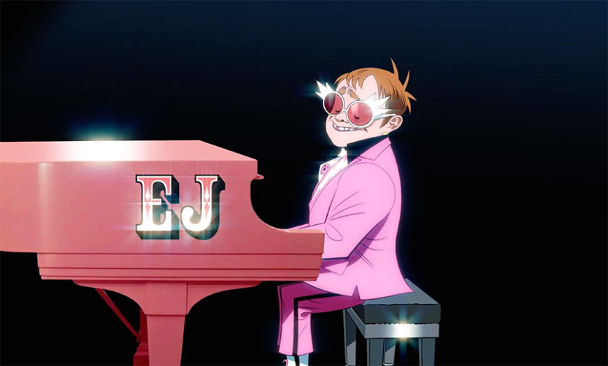 gorillaz elton john the pink phantom