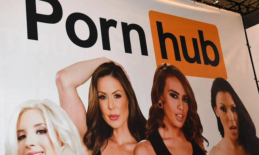 pornhub protests