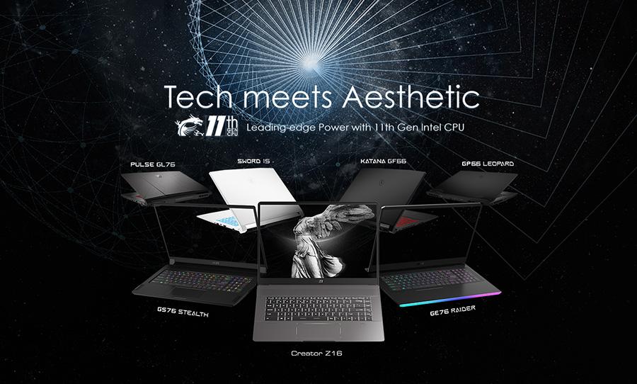 MSI Tech meets aesthetic
