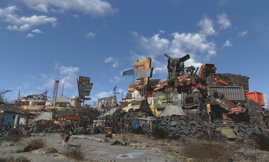 fallout 4 place everywhere